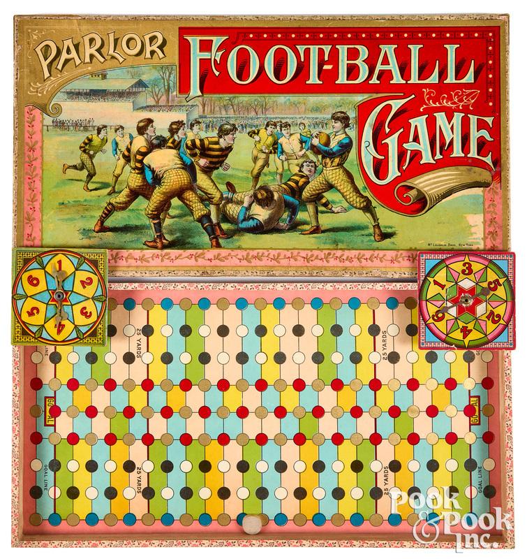McLoughlin Bros. Parlor Football Game, ca. 1891