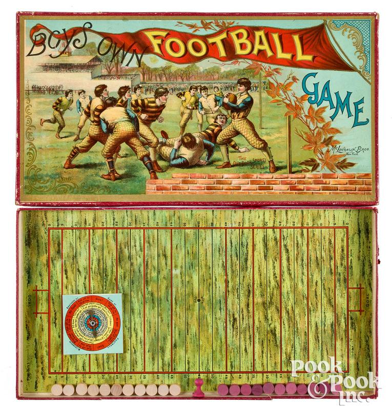 McLoughlin Bros. Boys Own Football Game