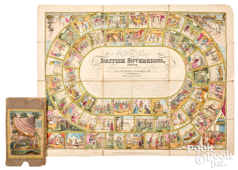 The Royal Game of British Sovereigns, early 19th c