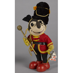 Knickerbocker Toy Co. Mickey Mouse Drum Major clot