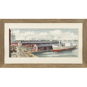 Adolph Dehn (1895-1968), watercolor and gouache, t