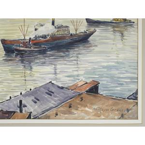 Albert van Nesse Greene (American 1887-1971), wate