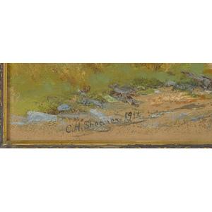 Christopher High Shearer (American 1846-1926), oil
