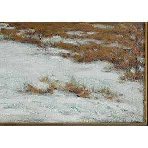 James Knox (American 1866-1942,) oil on canvas imp