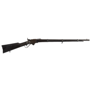 Spencer military repeating rifle, .52 cal., with a