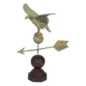 American copper spread winged eagle weathervane, 1