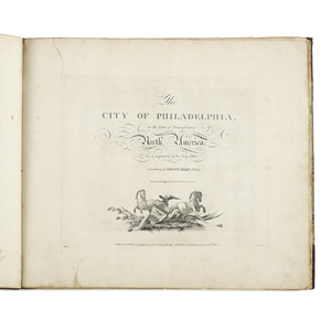 William Birch The City of Philadelphia in the Stat