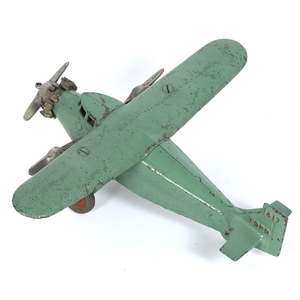 Dent cast iron Ford 1417 tri-motor airplane with n