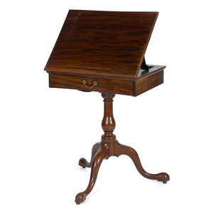 George II mahogany reading/music stand, ca. 1770