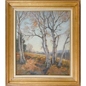 Thomas John Mitchell (American 1875-1940), oil ono