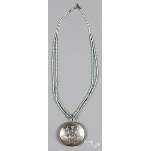 Hopi Native American necklace