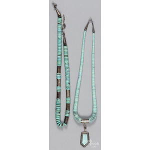 Southwestern Native American turquoise necklace