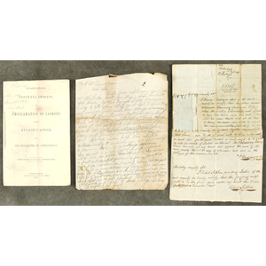 Early American letters, property documents, and ot