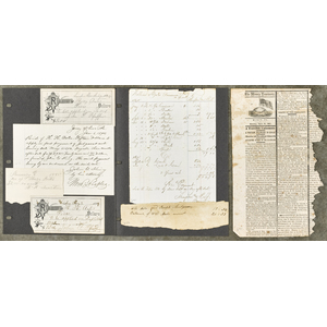Large collection of the personal papers of the Ant