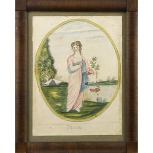 Eunice Pinney (Windsor, Connecticut 1770-1849), wa