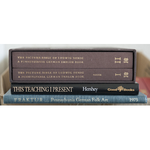 Group of antique reference books pertaining to fra