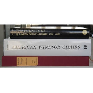 Group of antique reference books on American furni