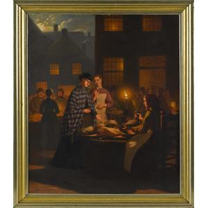 Johann Mongels Culverhouse (American/Dutch 1820-18