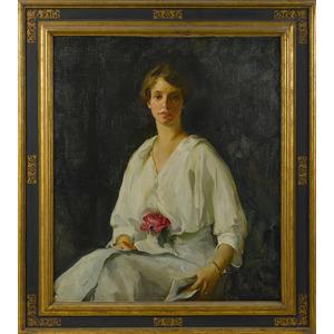 Alice Kent Stoddard (American 1883-1976), oil on c