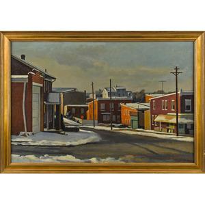 Giovanni Martino (American 1908-1997), oil on canv