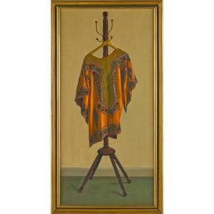 Eva Martino (American 1916-2012), oil on canvas, t