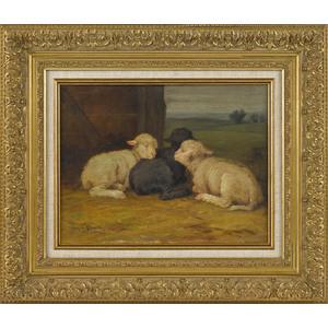 Francis Wheaton (American 1849-1942), pair of oiln