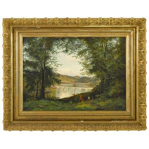 Edmund Darch Lewis (American 1835-1910), oil on ca