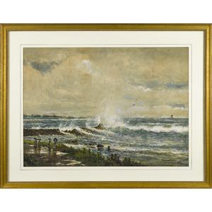Edmund Darch Lewis (American 1835-1910), watercolo