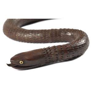 Japanese Meiji period iron articulated snake