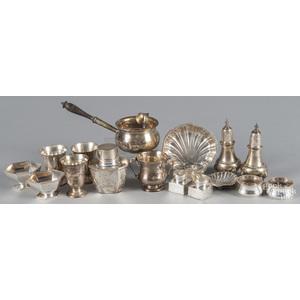 Sterling silver tablewares, 34.5 ozt.