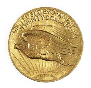 1907 $20 Saint Gaudens