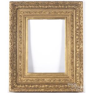 Giltwood frame, late 19th c.