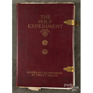 {The Holy Experiment}, illustrated by Violet Oakle