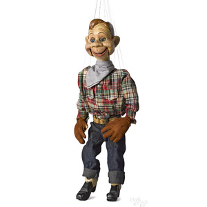 Original production Howdy Doody marionette
