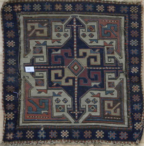 Pair of Kilim mats, early 20th c., 21