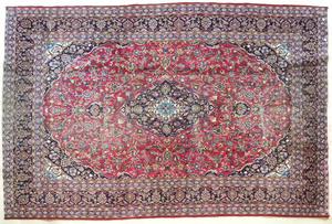 Meshed carpet, 13' x 9' 5