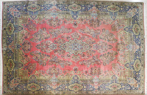 Kirman carpet, mid 20th c., 14' 4