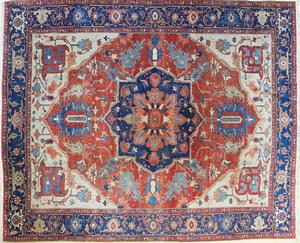 Contemporary Serapi carpet, 11' x 9'.