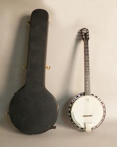 Deering six string banjo, 20th c.