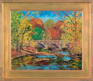 William Jachwak (American, b. 1954), oil on canvas