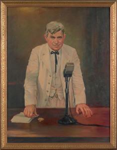 Hector Serbaroli (American, 1881-1951), oil on can