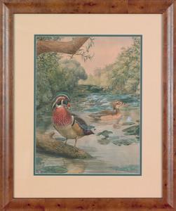 Earl Lincoln Poole (American, 1891-1972), watercol