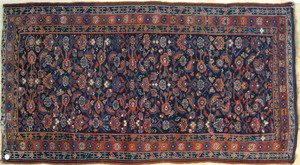 Hamadan carpet, mid 20th c., with herati pattern o