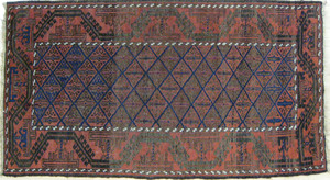Turkoman carpet, early 20th c., 5'6