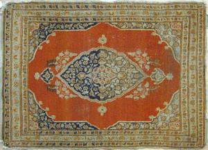 Three oriental mats, early 20th c., 3'1