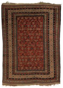 Shirvan carpet, ca. 1910, with repeating geometric