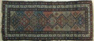 Hamadan carpet, ca. 1920, with repeating medallion