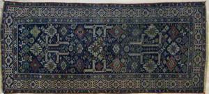 Shirvan carpet, ca. 1890, with perepedal design, 8