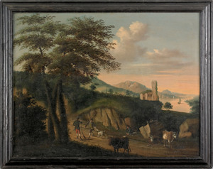 George Lambert, After (English, 18th c.), oil on c