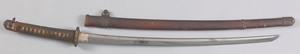 Japanese Samurai sword, late 19th c., with signedl
